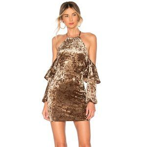 NEW House of Harlow 1960 Jo Dress Brown Small B35